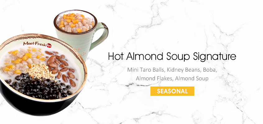 Hot Almond Soup Signature