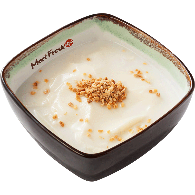 Hot Almond Tofu Pudding