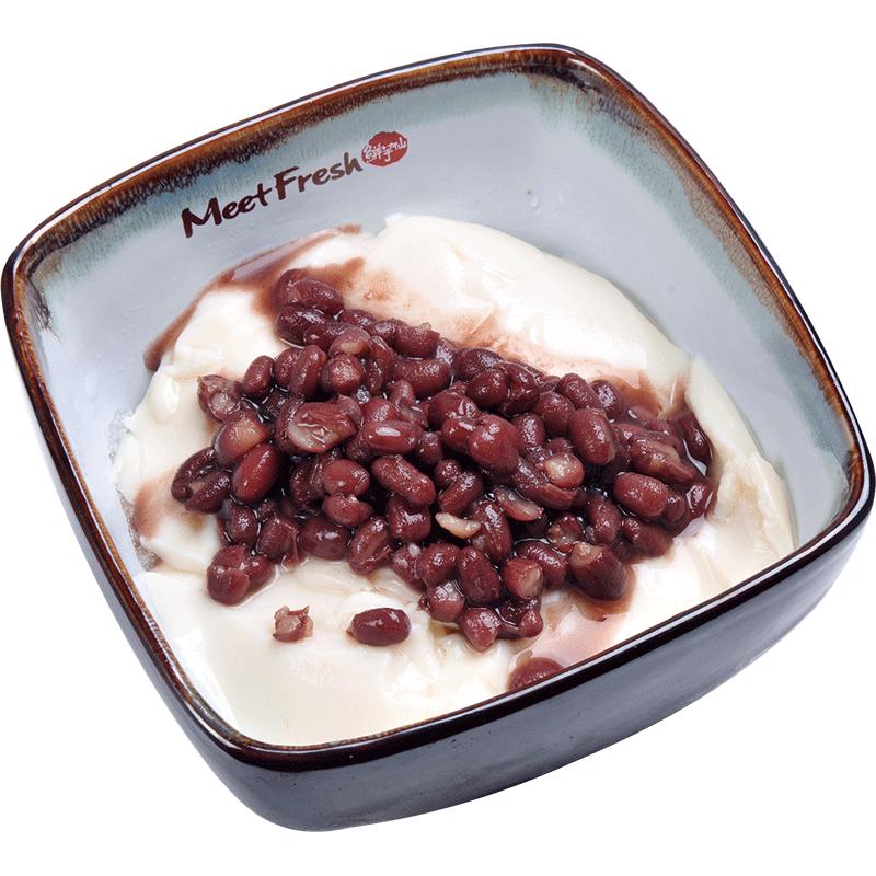 Red Bean Tofu Pudding