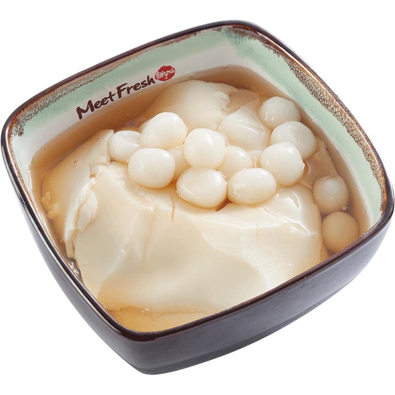Rice Ball Tofu Pudding