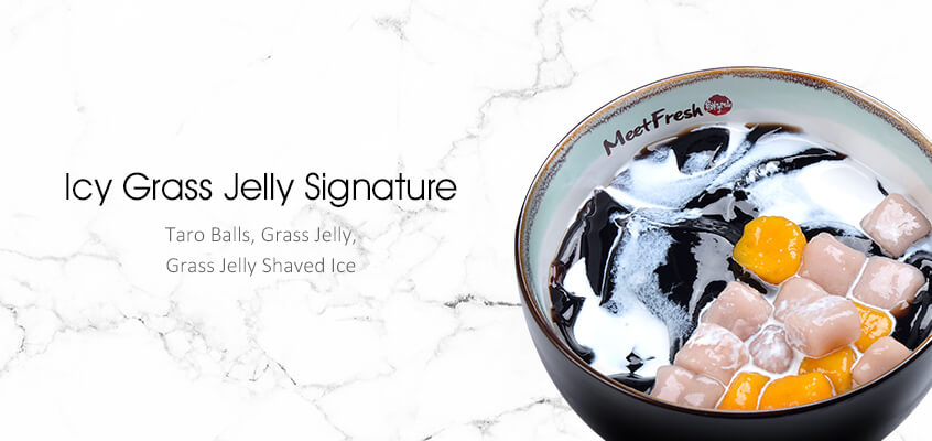 Icy Grass Jelly Signaturer