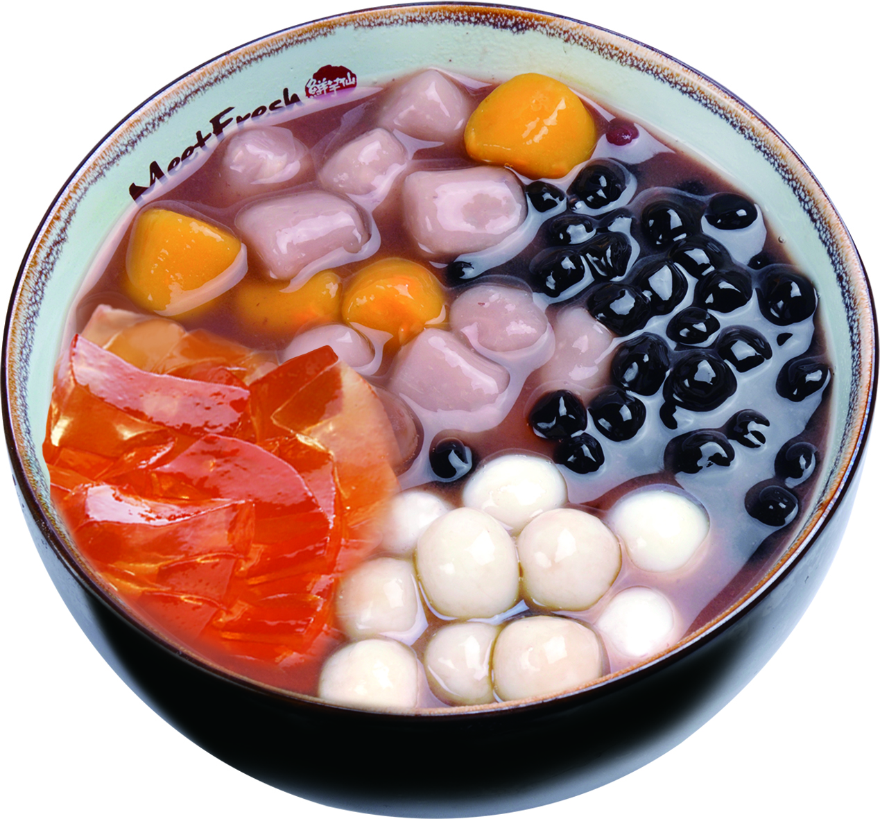 Hot Red Bean Soup Combo C