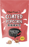 Coated Popcorn: 13 Spices